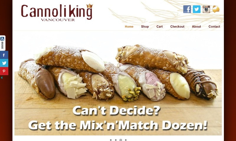 The cannoli king of vancouver
