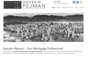 Hossein Pejman Mortgages