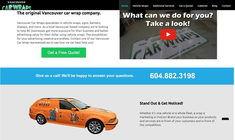Vancouver Car Wraps